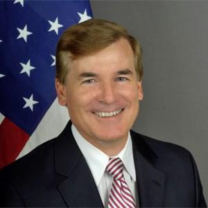 US Ambassador, Bent Hardt.