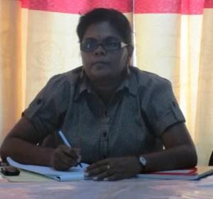 Chairperson, Chandrowtie Sarran