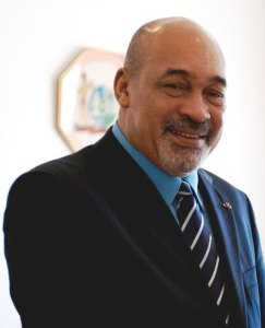 Suriname President Desi Bouterse.