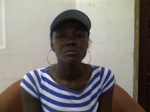 Distressed mother, Shelton King. [iNews' Photo]