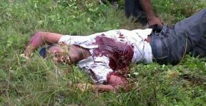 The dead gunman, Kirk Bacchus