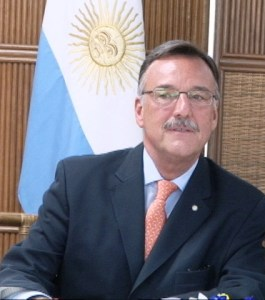Argentina's Ambassador, Luis Alberto Martino. [iNews' Photo]