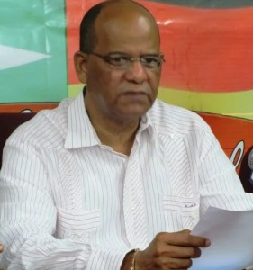 General Secretary of the PPP, Clement Rohee. [iNews' Photo]
