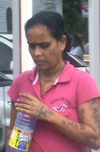 Shafrona Yusuf during her court appearance. [iNews' Photo]