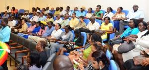 A section of the gathering of stakeholders at the Micro and Small Enterprise (MSE) project launch