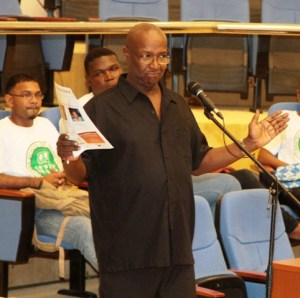 Chief Coordinator of the Caribbean Farmers Network (CaFAN) Jethro Greene.