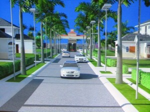 A depiction of the Housing Development by Windsor Estates. [iNews' Photo]