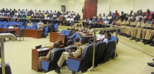A section of the stakeholders at the conference. [iNews' Photo]