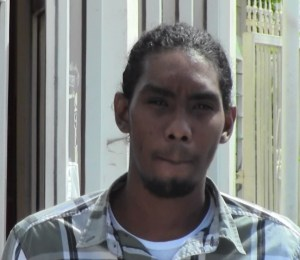 Revon Austin during his appearance at the Georgetown Magistrate's Court.