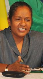 Deputy Speaker Deborah Backer