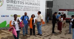 Members of the Guyana delegation