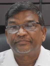 Minister of Labour, Dr. Nanda Gopaul.