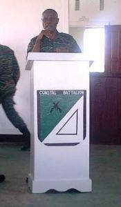 Commanding Officer: Major Colin Henry