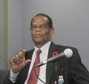 Former WICB President, Dr. Julian Hunte