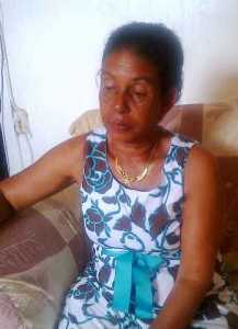 Grieving mother, Roslyn Jacobs. [iNews' Photo]