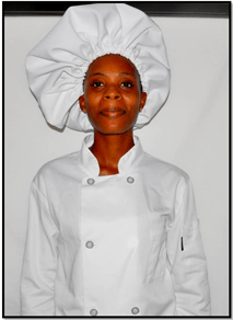 Acting Sergeant Monique Skeete completed the Diploma in Catering and Hospitality Management at Carnegie School of Home Economics.