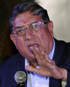 N Srinivasan will be the ICC chairman from July.