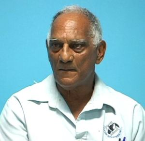 President of the Guyana Volleyball Federation, Lennox Shuffler.