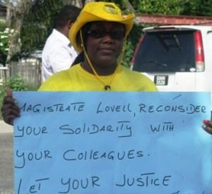 President of the Guyana Women Miners Organization Simona Broomes. [iNews' Photo]