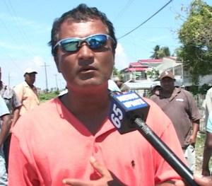 Field Supervisor, Ravi Dasrat. [iNews' Photo]
