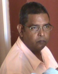 Proprietor of Crown's Taxi Service, Nawaab Abdul.