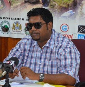 Minister of Tourism (ag), Irfaan Ali.