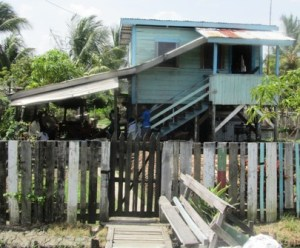 The house where Andre once lived. [iNews' Photo]