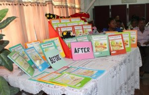 Series of Primary Science Text Books