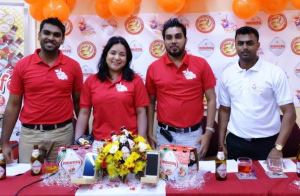 CEO, Irzad Zamal along with the Company's Director, Arianna Pereira and other Company officials.