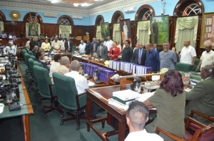 Government Members of Parliament stand in solidarity with Priya Manickchand