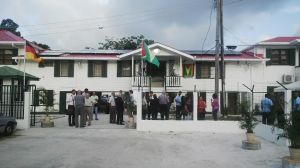 The newly commissioned PAC Office. [iNews' Photo]