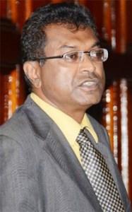 AFC Leader, Khemraj Ramjattan.