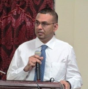 Natural Resources and Environment Minister, Robert Persaud. [iNews' Photo]