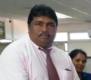 First Vice President of the Berbice Cricket Board (BCB) Anil Beharry