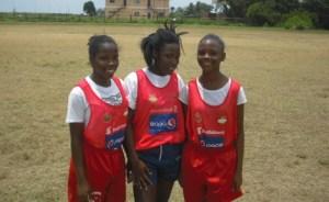 Nsenga Grant, Shaquanna Hope and Kirtisha Underwood