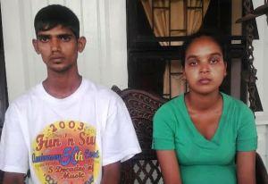 The baby's parents: Ravikant Bistonauth and Sandra McLean. [iNews' Photo]