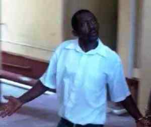 The accused: Sherwin Scipio
