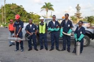 Vector control team