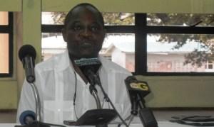 Vice Chancellor of the University, Dr Jacob Opadeyi. [iNews' Photo]