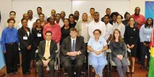 Participants in UNLIREC Specialized Training Course