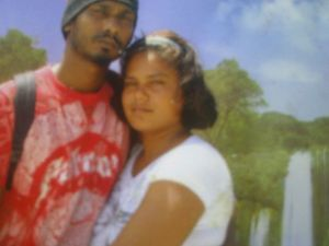 Shelly Persaud and her reputed husband.