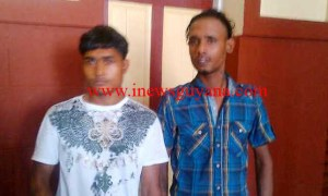 The two murder accused, Asraf Ali and Abdul Razack