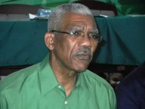 Opposition Leader, David Granger. [iNews' Photo]
