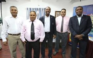 GCB, WICB officials