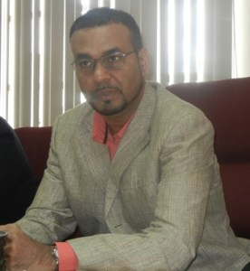 Minister of Natural Resources and Environment, Robert Persaud. [iNews' Photo]