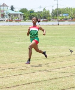 Letitia Myles easily wins for GDF in 2012