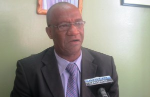 APNU Executive Member and Parliamentarian, Joseph Harmon. [iNews' Photo]