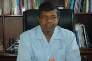 Newly appointed Chairman of GuySuCo, Shaik Baksh.
