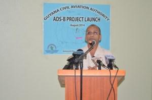 Chairman of the Guyana Civil Aviation Authority, Zulfikar Mohammed. [GINA Photo]