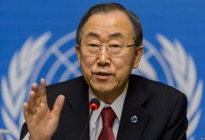UN Chief Ban Ki Moon